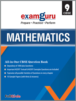 Examguru All In One CBSE Chapterwise Question Bank for Class 9 Mathematics (Mar 2019 -Exam)