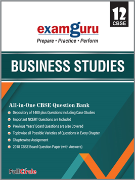 Examguru All In One CBSE Chapterwise Question Bank for Class 12 Business Studies (Mar 2019 Exam)
