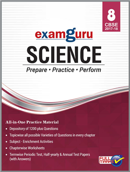 Examguru All In One CBSE Chapterwise Question Bank for Class 8 Science (Mar 2019 Exam