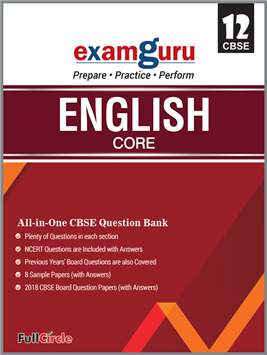 Examguru All In One CBSE Question Bank for Class 12 English Core (Mar 2019 Exam)
